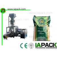 Premade Rice Open Mouth Bagging Machine Automatic Bag Placer Manufactures
