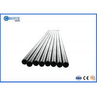 Rust Proof Hot Dip Galvanized Tube 6m Length Black Painting Surface For Fluid Manufactures