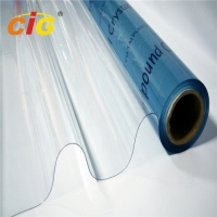 Super Clear Transparent Soft Clear PVC Sheet  with competitive price Manufactures