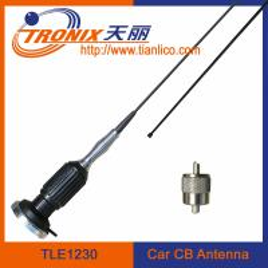 27mhz radio cb antenna/ magnetic mount cb car antenna/ car cb antenna TLE1230 Manufactures