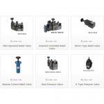 Hydraulic Pressure Control Valves, Pressure Control Valve Manufactures