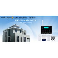 GSM &PSTN Telephone Landline Touch Screen Wireless Home Alarm Systems Manufactures