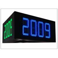 China 5000cd / ㎡ Brightness led price signs for gas stations , IP 65 16 DIY LED Sign Board on sale