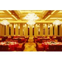 Cheap Leather Acoustic Panel Finished Movable Folding Wooden Partition Walls for Hotel for sale