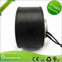Air Purification Forward Curved Centrifugal Fan Blower , DC Input High Pressure Centrifugal Fan Manufactures