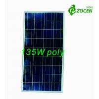 Cheap 135W 18V Rated Poly PV Solar Panel For RV / Camping / OFF- grid Solar System for sale