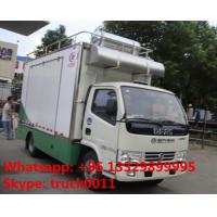 China 4x2 diesel 120hp mobile chinese food truck, dongfeng 4*2 LHD mobile kitchen vehicle, hot sale fast food truck for sale on sale