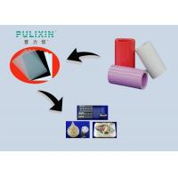 Colored Food Grade Polypropylene Plastic Sheeting Rolls In Red / White / Purple Manufactures
