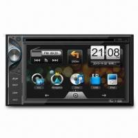In-dash DVD Player with 4CH and Built-in Navigation Map, Supports Bluetooth Manufactures