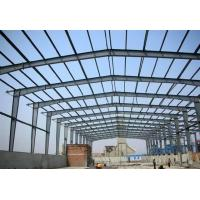 China Prefab Metal Buildings Long Span Steel Structures With Sandwich Panels on sale