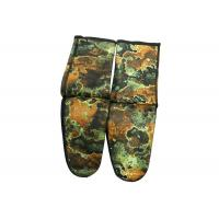 Professional Cr Neoprene Scuba Fin Socks Elastic Camouflage Color For Adult Manufactures