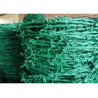 Normal Twist / Reverse Twist Barbed Wire Fence 450mm - 960mm Diameter For Prisons Manufactures