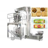 Vertical Food Packing Machine For Biscuit / Chips Full Automatic Control Manufactures