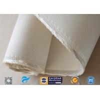 Asbestos free Satin Weave Silica Fabric Thermal Insulation 37oz High Silica Cloth Manufactures