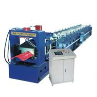 Buy cheap Colour Sheet Big Round Ridge Capping Cold Roll Forming Machine Panasonic PLC from wholesalers