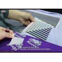 Hot Peel Glossy Heat Transfer PET Film From Screen Printing And Offset Printing Sportswear Tagless Heat Transfer Labels Manufactures