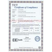 POETRONICS INDUSTRIAL LIMITED Certifications