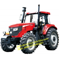 LG1504 Heavy Duty Loading 6580kgs 150HP Agriculture Wheel Tractor Manufactures