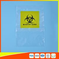 Reclosable Clear Ziplock Lab Guard Specimen Bag With Three Layer Manufactures