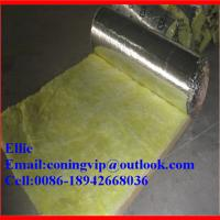 16Kg/m3X38mm Fiber glass wool blanket for duct insulation Manufactures