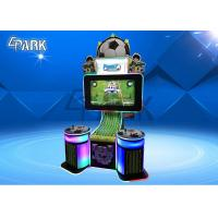 Commercial Football / Soccer Arcade Game Machine Reality Simulator  For Amusement Park Manufactures