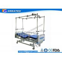 Easy Cleaning Four Crank Manual Hospital Bed / Manual Orthopedics Bed For Clinic , Family Manufactures