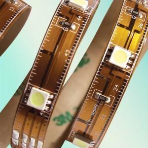 2900K / 4000K / 6500K 300PCS IP54 SMD 5050 Flexible Led Strip Light With 3 Leds, 6 Leds Manufactures