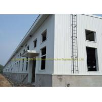 China Industrial Construction Workshop Steel Structure Buildings Hot Dip Galvanised on sale