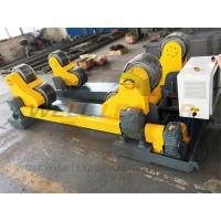 Driving 20 Ton Self Aligned Welding Rotator Two Grades Transmission 1.5kw Motor Manufactures