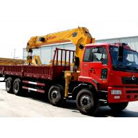Mobile Telescopic Boom Truck Crane, 16T 20000mm Lifting Height Manufactures