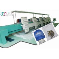 Auto Cap / T-shirt Six Head Embroidery Machine With 550*450mm Embroidery Area Manufactures