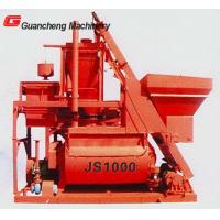 Quality Compulsory Concrete Mixer JS1000 towable plaster , cement concrete mixer for sale