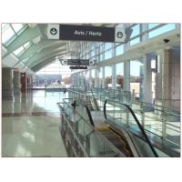 Airport Tempered Laminated Glass Walls And Stairs , Toughened Glass 10 mm Manufactures