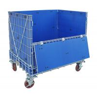 Hollow Plate Wire Mesh Storage Containers Collapsible Wire Container Manufactures