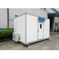 Custom Outdoor Equipment Shelters FRP Container 20ft 40ft Multistory With Split AC Manufactures