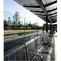 Nano Coating Self Cleaning Glass Easy Cleaning For Bus Stop Manufactures