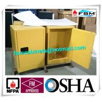 Flammable Storage Containers , Chemical Storage Cabinets For Laboratory