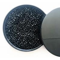 Easy Flow Carbon Black Masterbatch Recycled Plastic Pellets Raw Materials Manufactures