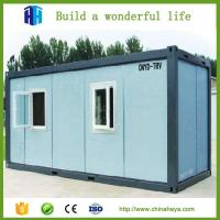 Sandwich Panel steel structure Container house/sandwich panel house 20FT container house Manufactures