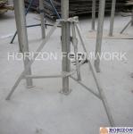 Slab Concrete Forming Adjustable Construction Props , Flexible Foldable Shoring Prop Manufactures