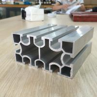China Export high quality of custom t slot aluminum extrusions, industrial aluminum profile for CNC table Assembly Line on sale