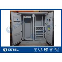 China Air Conditioner Type Base Station Outdoor Rack Cabinet Energy Saving For Equipment / UPS on sale