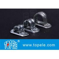Easy Install BS4568 Conduit Fittings Carbon Steel Spacer Bar Saddle With Base Manufactures