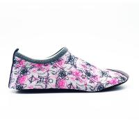 Lycra Ultra Light Non Slip Water Shoes With Bootstrap Causal Printing Manufactures