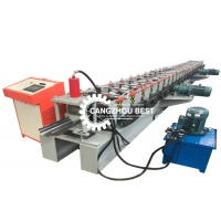 China China Products Slide Channel Truck and Metal Stud Steel Door Frame Making Machines on sale