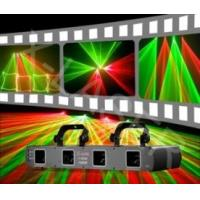 Sound Activated Multi Head Laser HF400GR four heads red&green disco laser flashing light Manufactures