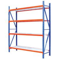Logistics Industrial Warehouse Shelving Corrosion Resistant Long Life Span Manufactures