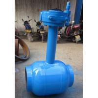Cheap Underground Water / Oil 1200mm Welding Connect Ball Valve DN15 ~ DN1400 for sale