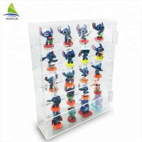 Transparent Acrylic Countertop Display Case Shelf Decoration Toy Display Cabinet Manufactures