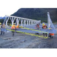 Bridge System Bailey Bridge Panel Prefabricated Compact 200 Mabey Temporary Manufactures
